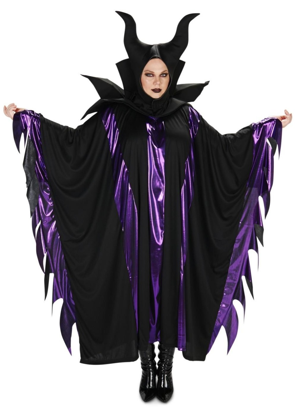 Magnificent Maleficent Womens Plus Costume Witch Costumes