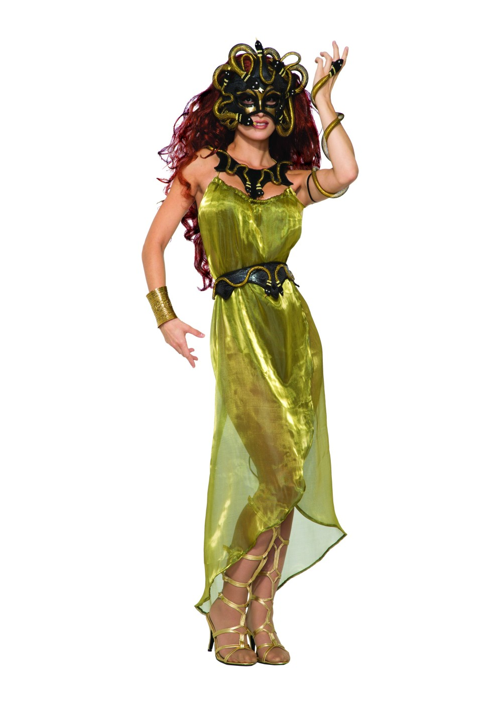 medusa women mask greek costumes