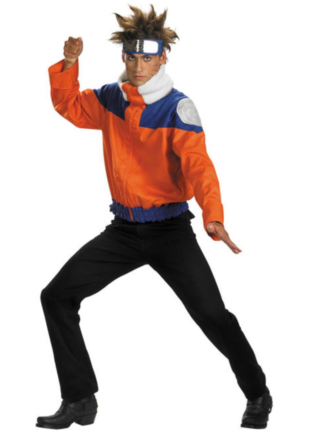 Naruto Jacket Costume - Kids Halloween Costumes