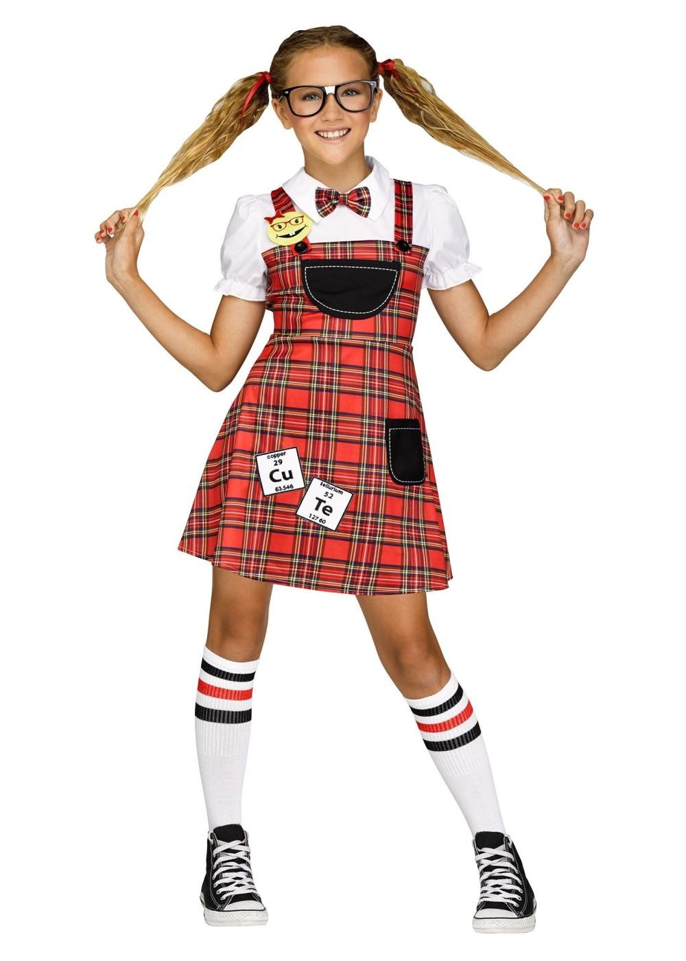 Nerd Girl Costume - Funny Costumes