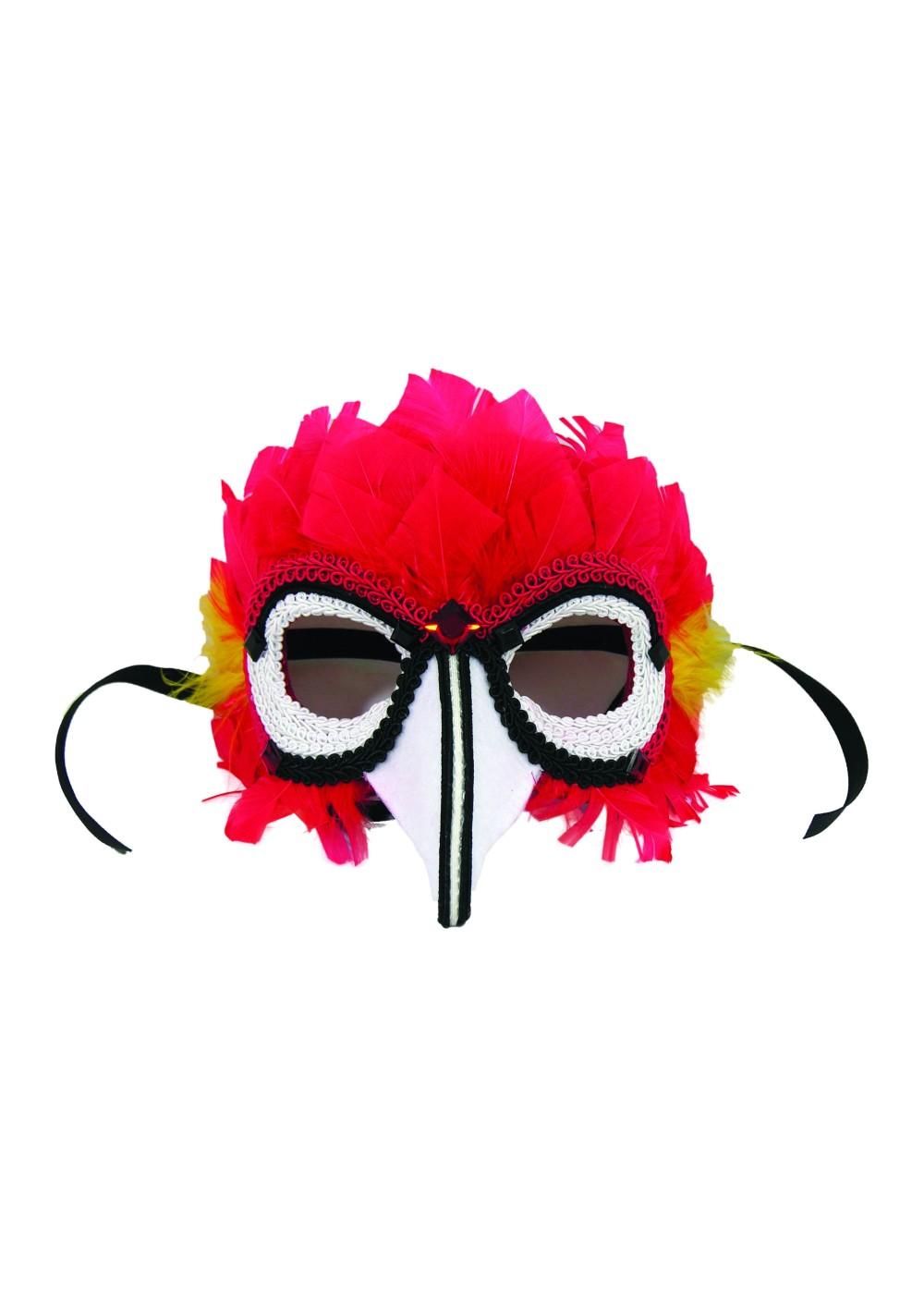 Своими руками маска попугая 57