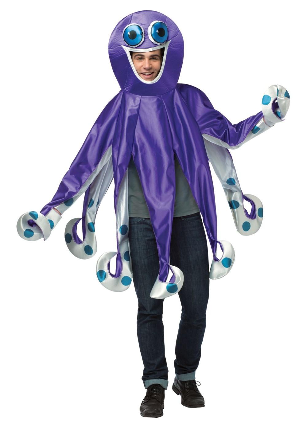 Octopus Halloween Costume Toddler