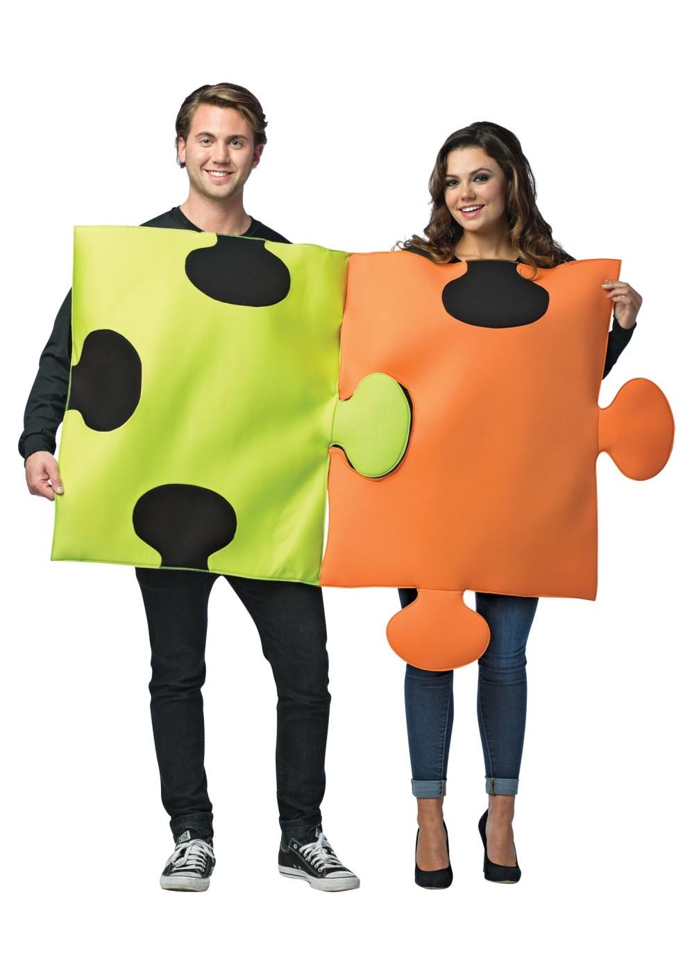 Puzzle Pieces Couples Costume