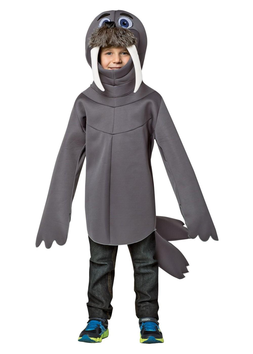 Boys Toddler Walrus Costume Animal Costumes