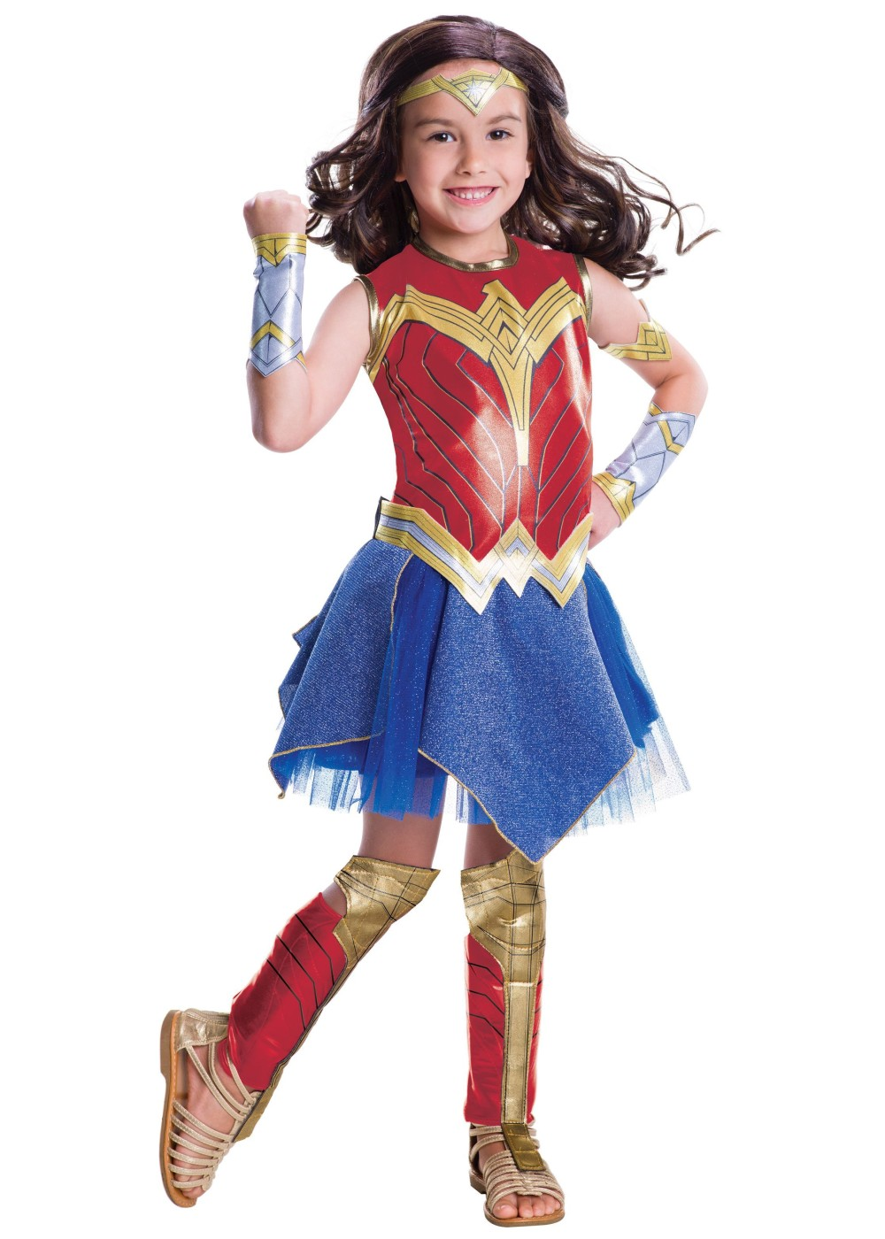 Wonder Woman Girls Costume - Superhero Costumes - New for 2017