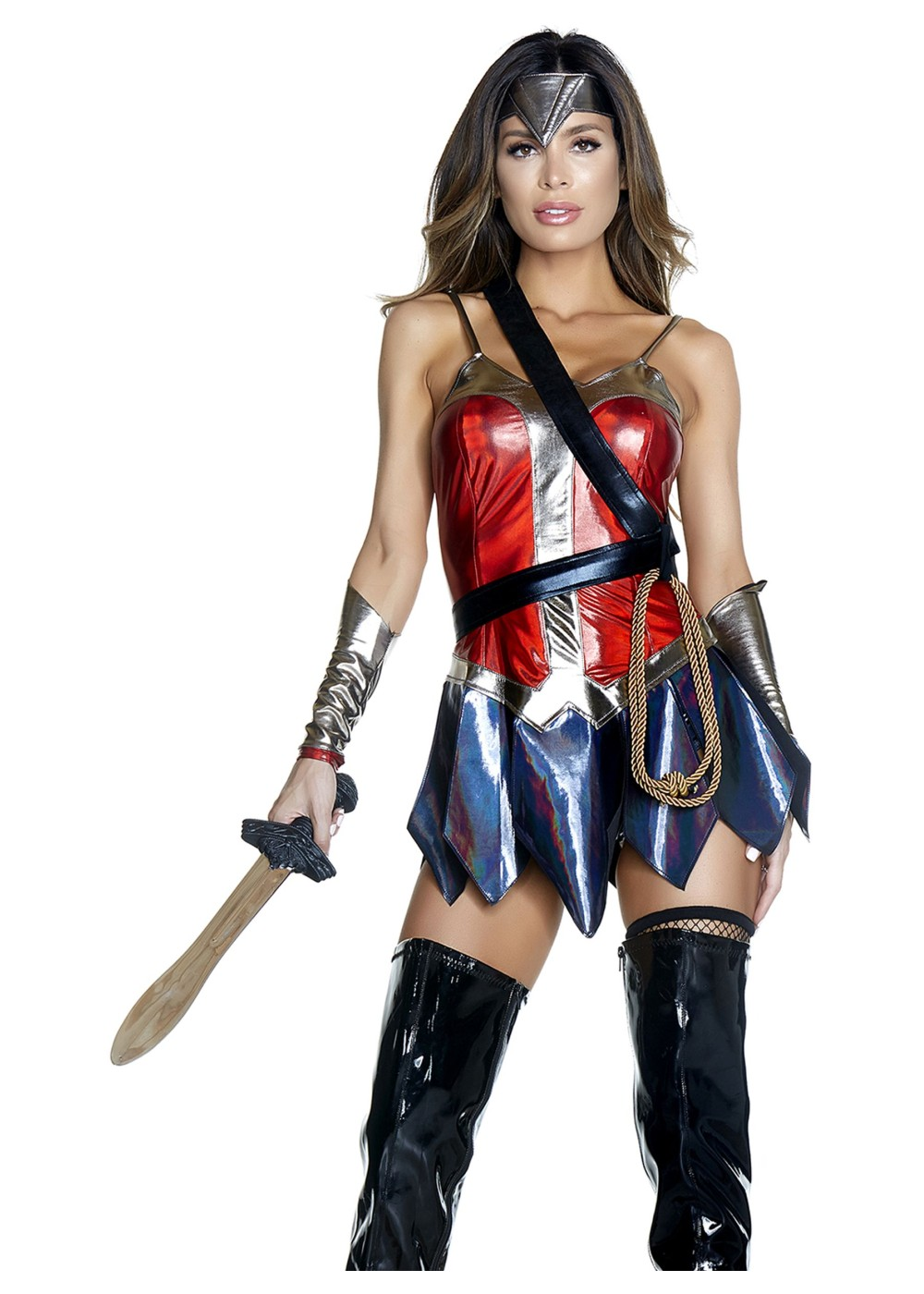 Enchanted Wonder Woman Superhero Costume - Superhero ...
