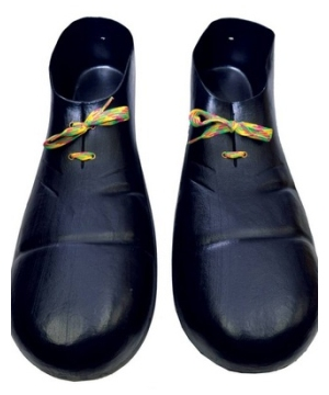 Black Clown Shoes