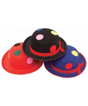 Clown Mellon Hat- Adult Costume Accesory