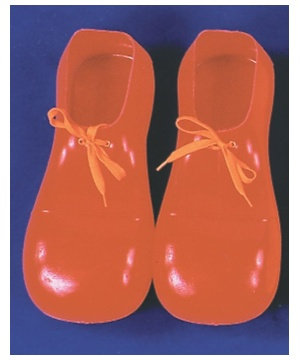 12 Inch Red Clown Shoes