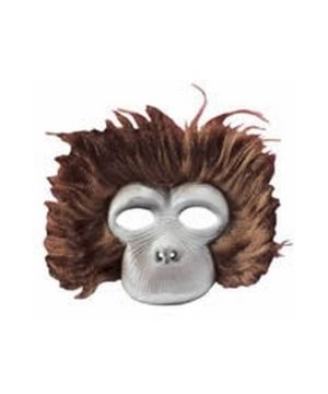 Chimp Plush Mask