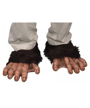 Chimp Feet - Costume Accessory