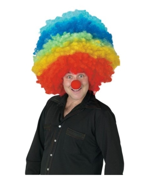 Mega Clown Adult Wig