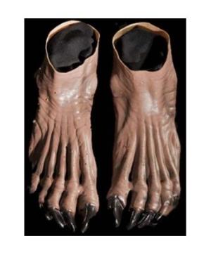 Werewolf Brown Feet  sc 1 st  Halloween Costumes & Adult Grey Werewolf Feet - Werewolf Halloween Costumes