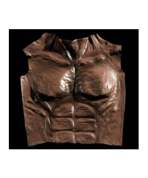 Werewolf Chest - Adult Costume Accessory - Brown