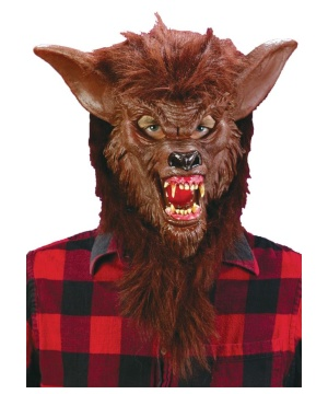Werewolf Adult Mask Deluxe Accessory