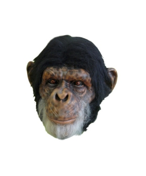Chimp Latex Adult Mask