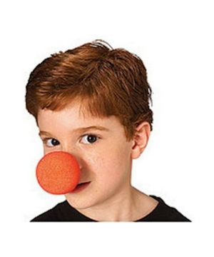 Red Clown Nose Accessory