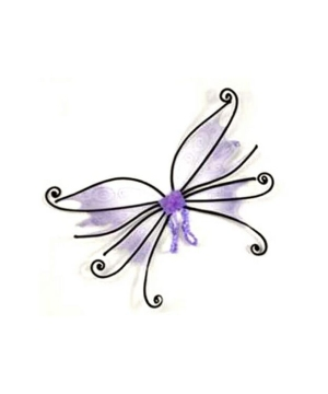 Spider Fairy Wings - Adult Wings - Purple/black