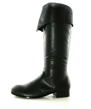 Bernard Black Boots - Adult Shoes