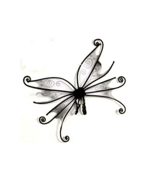 Black Spider Fairy Wings