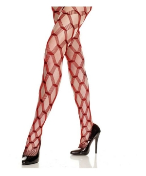 Diamond Lace Tights Adult Accessory