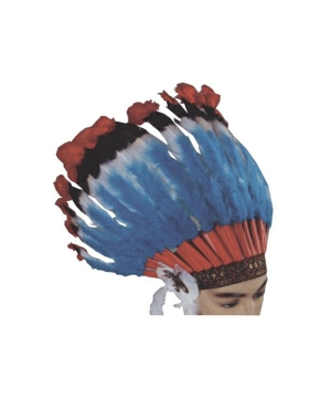 Headdress Native American - Adult Accessory - Deluxe