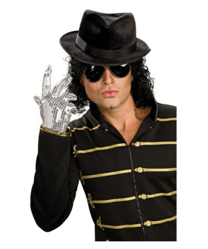 Michael Jackson Silver Men Glove