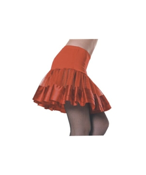 Petticoat Red Ribbon Adult Costume Accessory