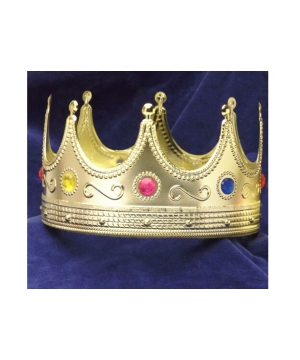 Regal King Crown - Adult Accessory