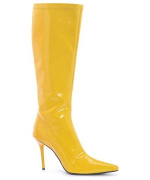 Sexy Emma Yellow Boots - Adult Shoes