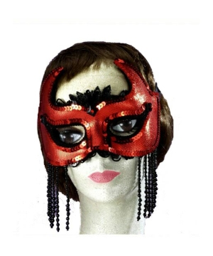 She Devil Venetian Mask