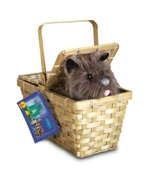 Toto With Basket - Wizard Of Oz Costume Accessory