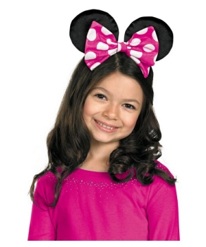 Minnie Mouse Girls Bow