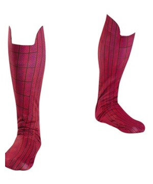 The Amazing Spiderman Men Boot Covers
