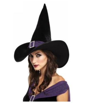 Elegant Witch Adult Hat