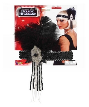 Flapper Adult Headband Deluxe