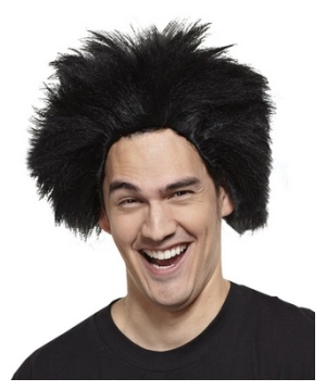 Fun Black Wig Adult