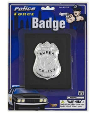 Police Wallet Badge