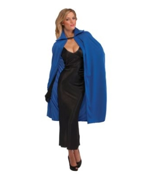 Blue Cape Adult Costume