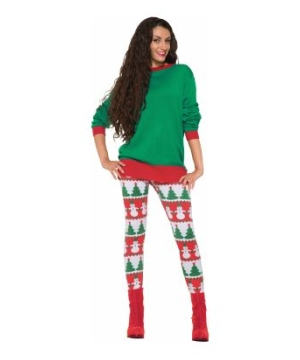 Christmas Lady Leggings