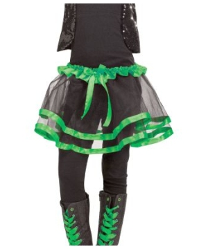 Green Ribbon Kids Tutu