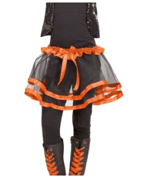 Orange Ribbon Kids Tutu