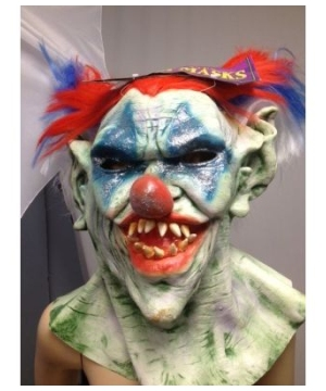 Outta Control Clown Adult Mask