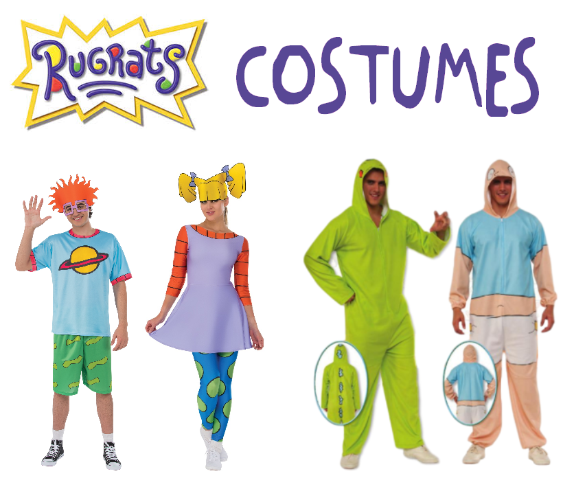 Rugrats Characters Costumes