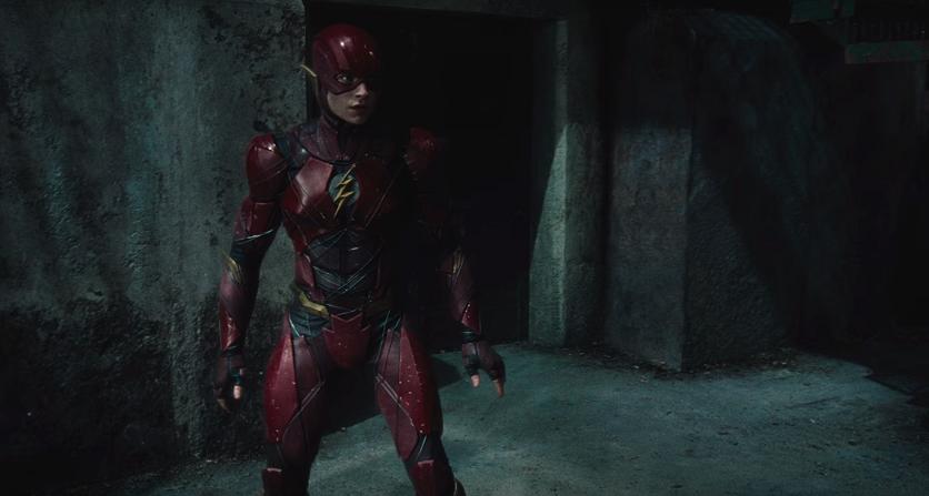2017 Justice League Movie Flash Costume