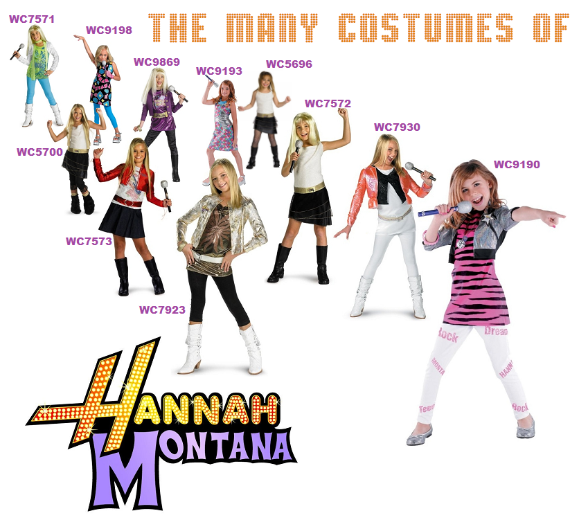Ultimate guide to disney costumes disney costume shop guide disney licensed hannah montana costumes solutioingenieria Images