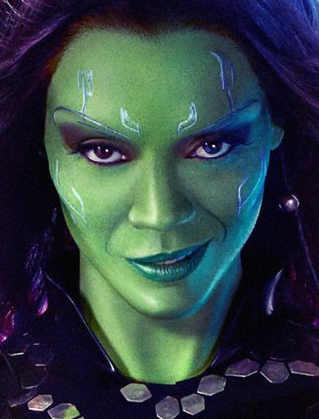 Guardians of the Galaxy Makeup Tutorial: Gamora Transformation