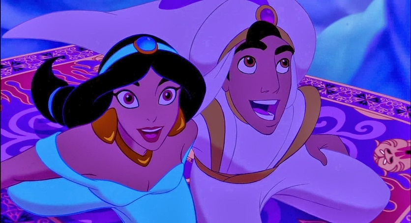 Disneys magic the fail proof formula for unforgettable for Aladdin carpet ride scene