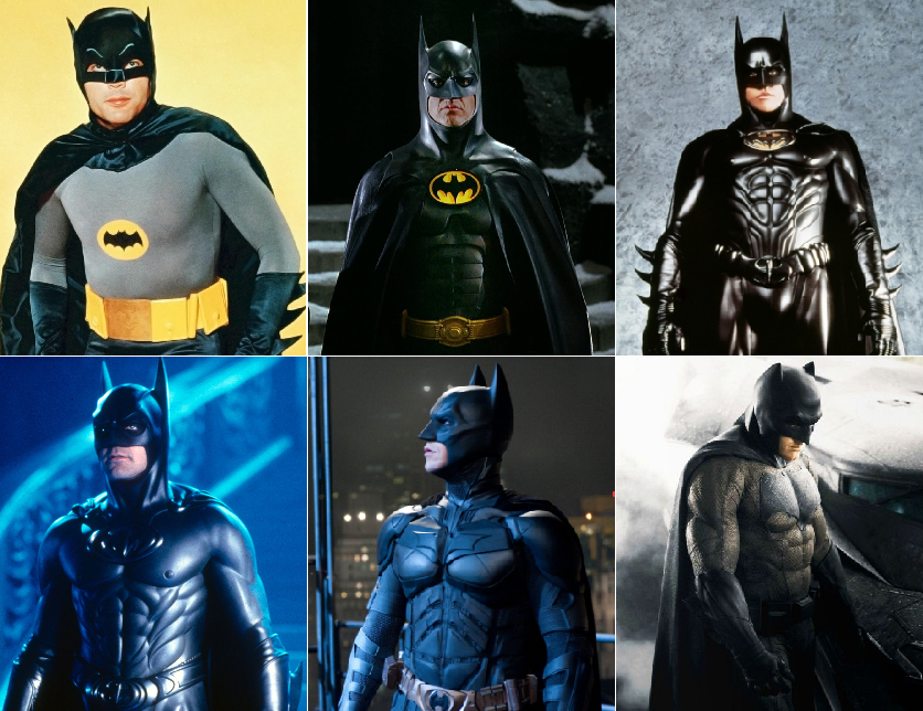 Batman's Suits: Grading The Caped Crusader's 8 Different ... |Different Batman Suits Movies