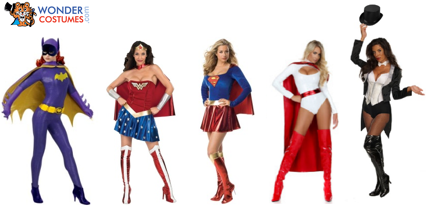The Most Iconic Dc Female Superhero Costumes